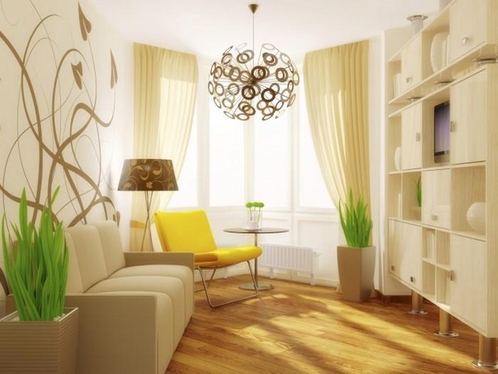 Schlafzimmer Dachschrage Farblich Gestalten : SchlafzimmerfarblichgestaltenmitGelbEinekreativeAusstattung
