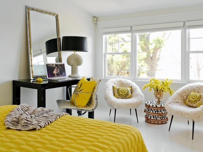 Schlafzimmer farblich gestalten: 69 Wohnideen mit der Farbe ...