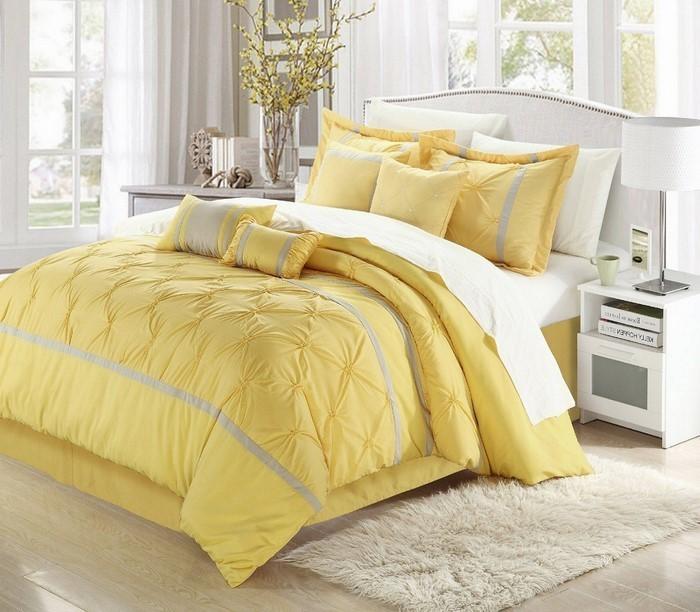 Schlafzimmer-farblich-gestalten-mit-Gelb-Eine-moderne-Ausstattung