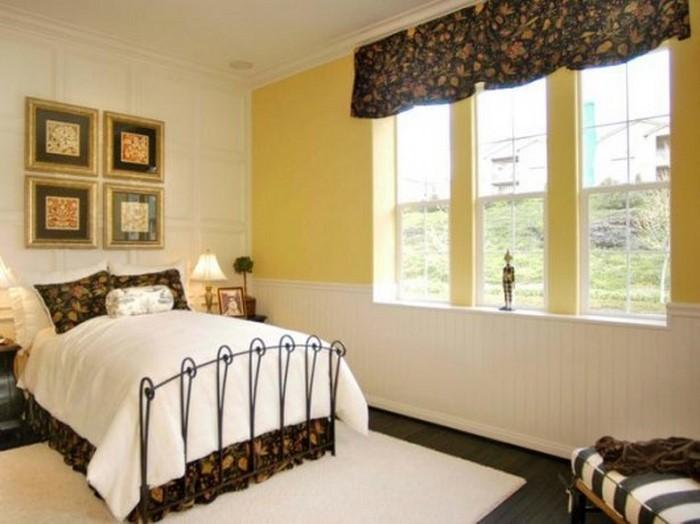 Schlafzimmer Mit Tapete Gestalten : Tapete : Schlafzimmer farblich gestalten: 69 Wohnideen mit der Farbe