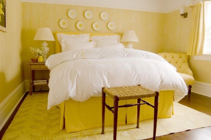 Schlafzimmer-farblich-gestalten-mit-Gelb-Eine-tolle-Ausstrahlung