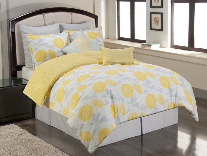 schlafzimmer farblich gestalten: 69 wohnideen mit der farbe gelb!, Deko ideen