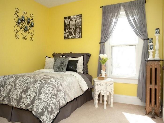 Schlafzimmer-farblich-gestalten-mit-Gelb-Eine-wunderschöne-Ausstattung