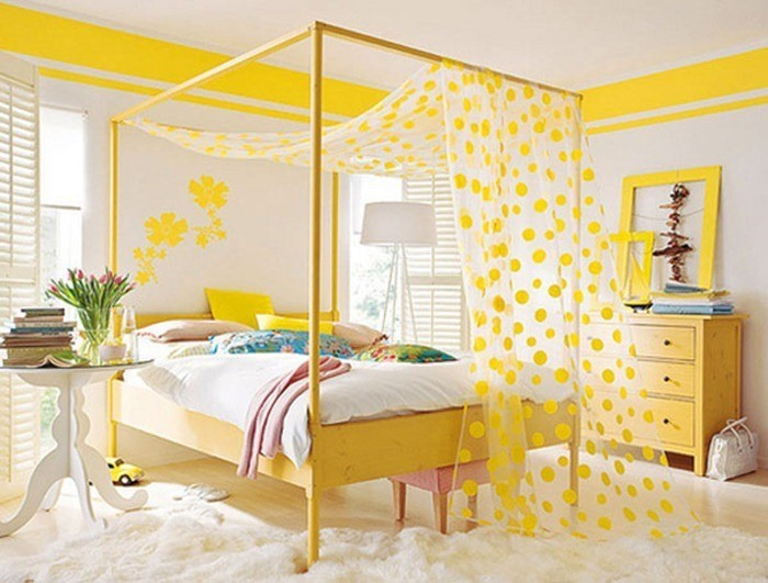Schlafzimmer-farblich-gestalten-mit-Gelb-Eine-wunderschöne-Ausstrahlung