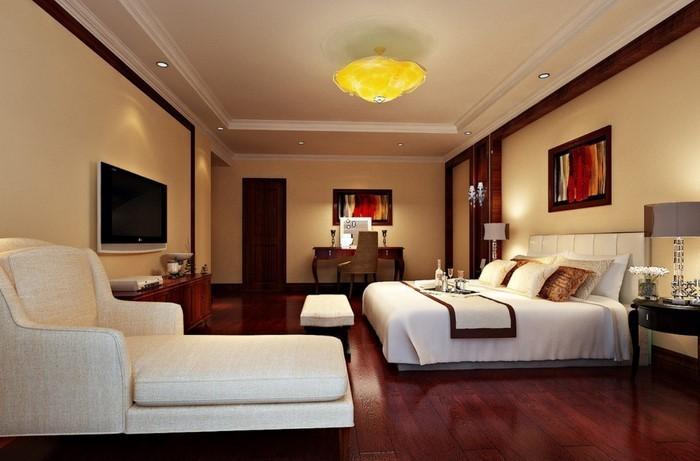Schlafzimmer-farblich-gestalten-mit-Gelb-Eine-wunderschöne-Dekoration