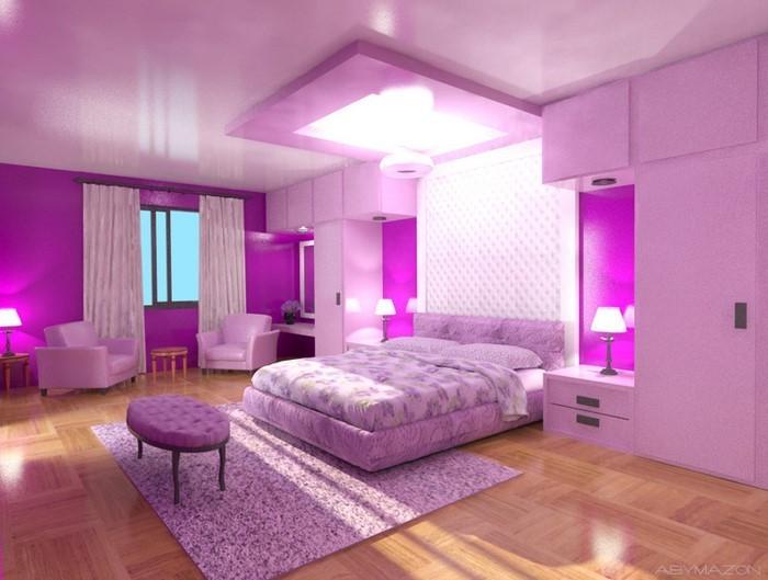 schlafzimmer lila verschiedene ideen f r die raumgestaltung inspiration. Black Bedroom Furniture Sets. Home Design Ideas