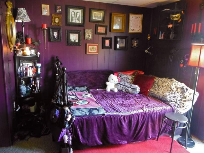 Chestha.com | Schlafzimmer Lila Dekor