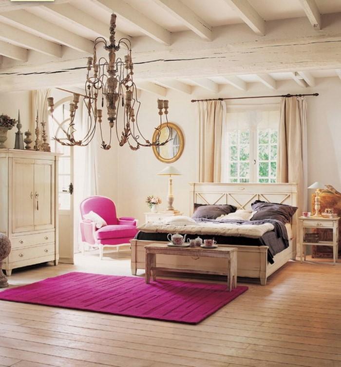 Wandfarbe Schlafzimmer Weisse Möbel: Das Schlafzimmer Lila Gestalten 67 Einmalige Wohnideen