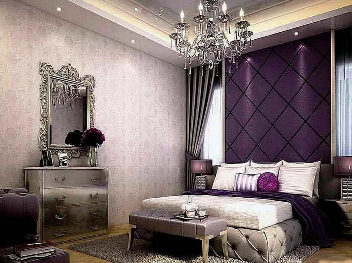 Schlafzimmer-lila-Eine-außergewöhnliche-Ausstrahlung