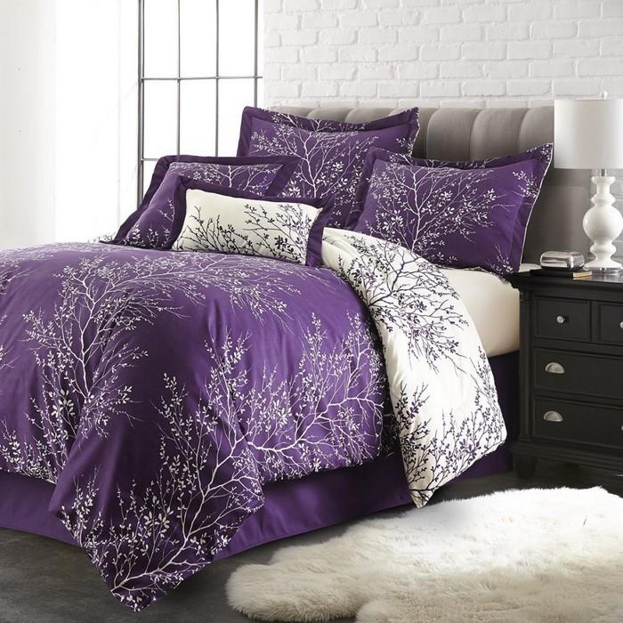 Schlafzimmer-lila-Eine-super-Ausstrahlung
