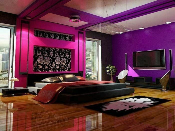 Schlafzimmer Lila Die Besten Lila Schlafzimmer Ideen Auf Pinterest Lila  Zimmer Design Ideen