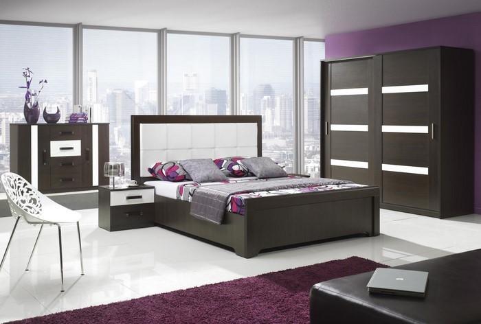 Schlafzimmer-lila-Eine-wunderschöne-Ausstattung
