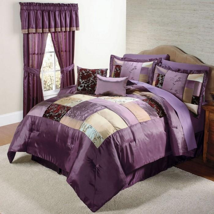 Schlafzimmer-lila-Eine-wunderschöne-Entscheidung