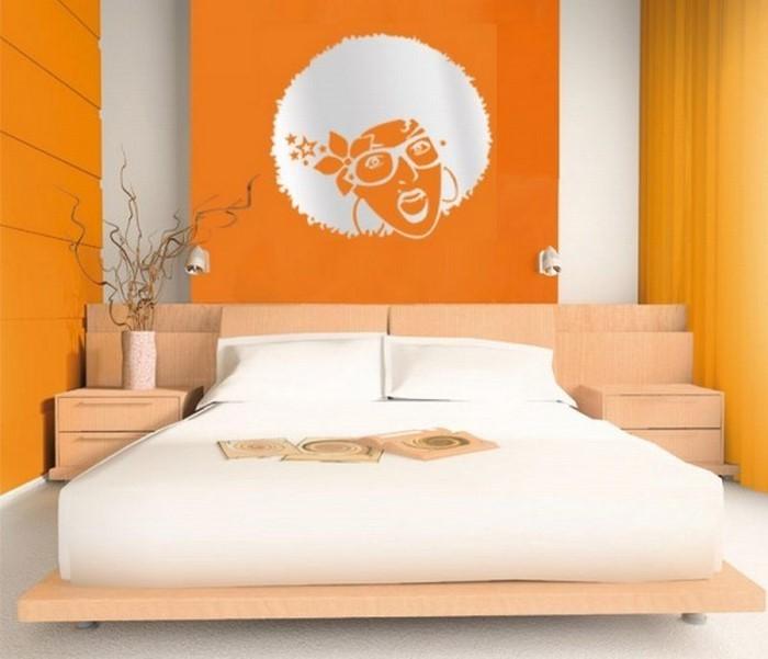 Schlafzimmer-orange-Ein-tolles-Design