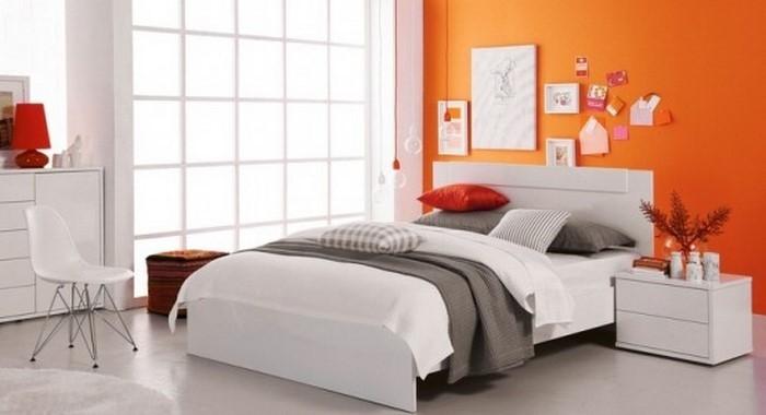 Schlafzimmer-orange-Ein-wunderschönes-Design