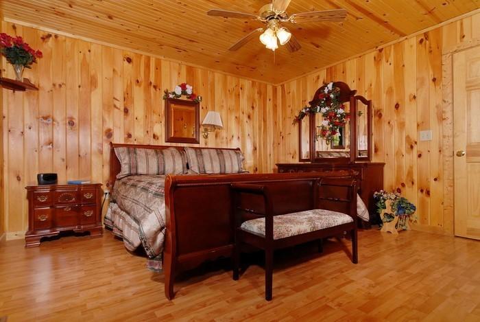 Schlafzimmer-orange-Eine-auffällige-Ausstattung