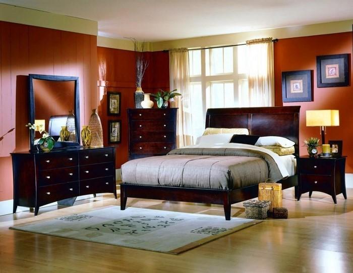 Schlafzimmer-orange-Eine-coole-Еinrichtung