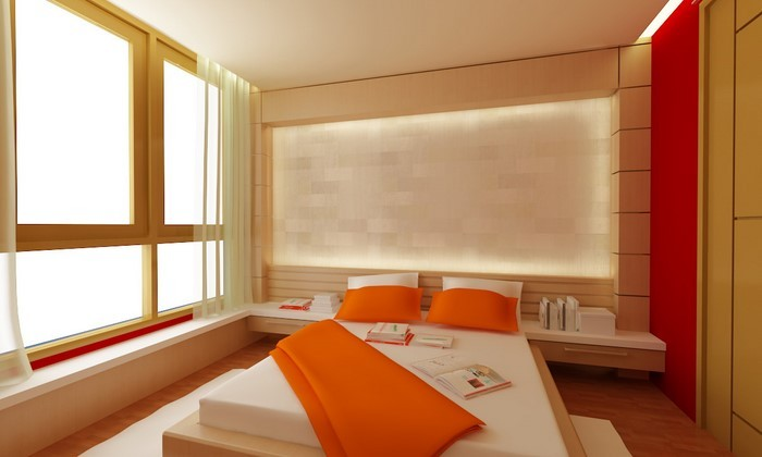 Badezimmer walnuss holzfliesen for Schlafzimmer farbideen