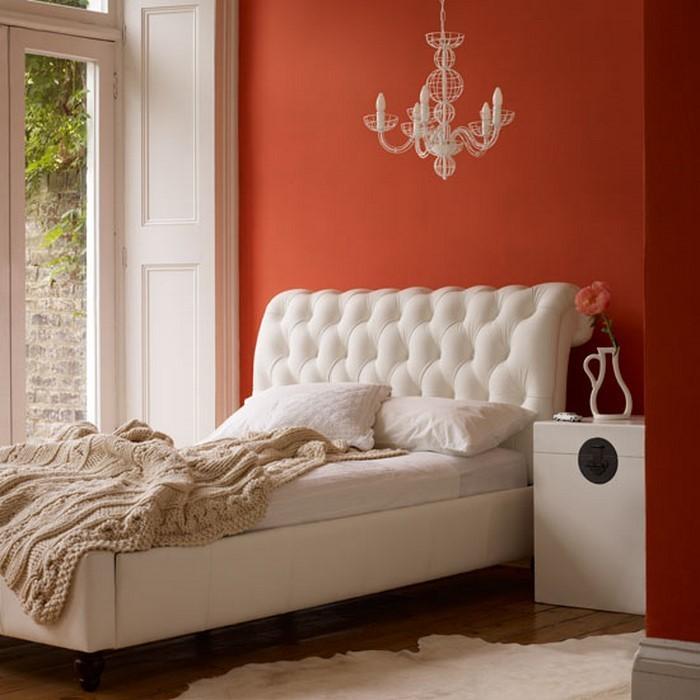 Schlafzimmer-orange-Eine-tolle-Ausstattung