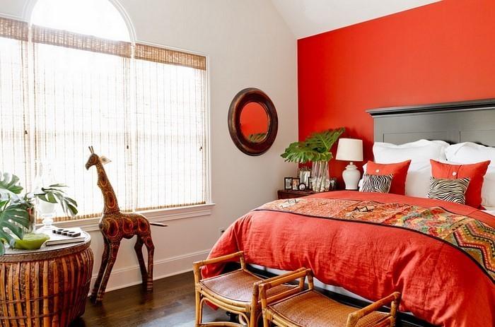 Schlafzimmer-orange-Eine-tolle-Entscheidung