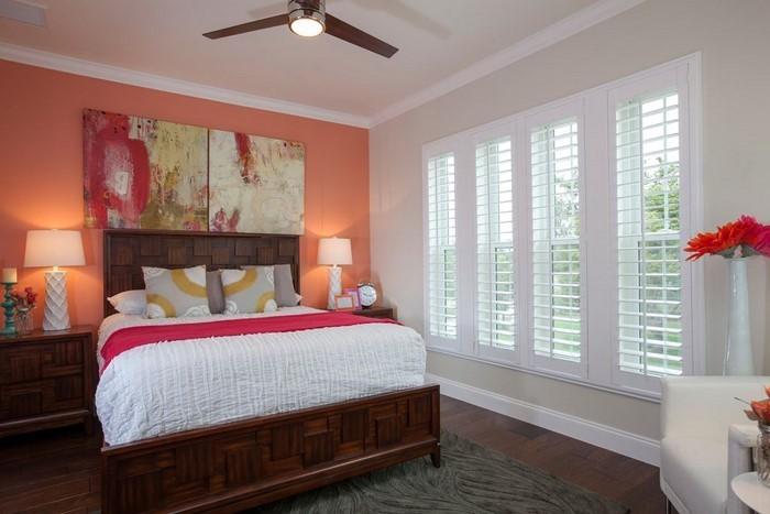 Schlafzimmer-orange-Eine-verblüffende-Еinrichtung