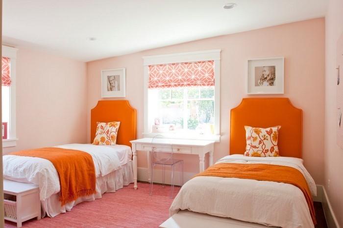 Schlafzimmer-orange-Eine-verblüffende-Entscheidung