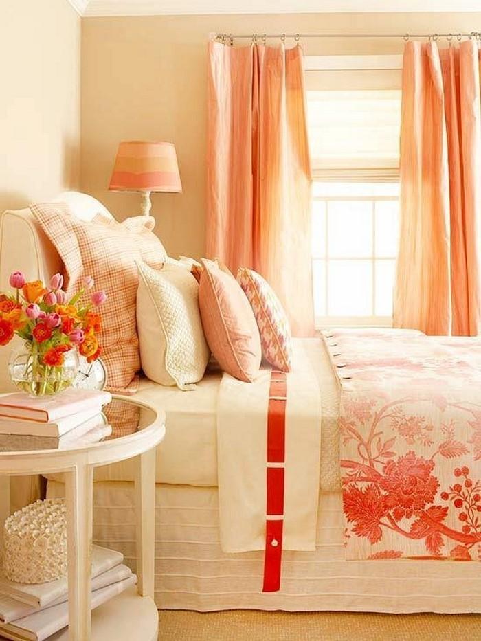 Gut Schlafzimmer In Orange Einrichten Und Dekorieren ...
