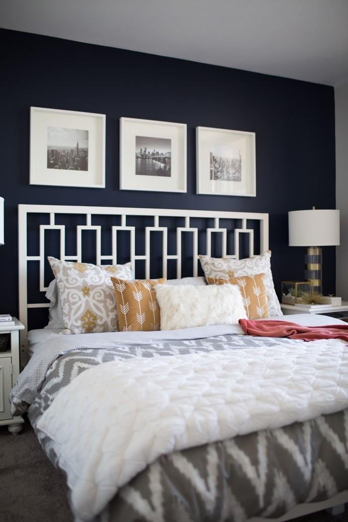 Schlafzimmereinrichtung-in-Blau-Ein-auffälliges-Design
