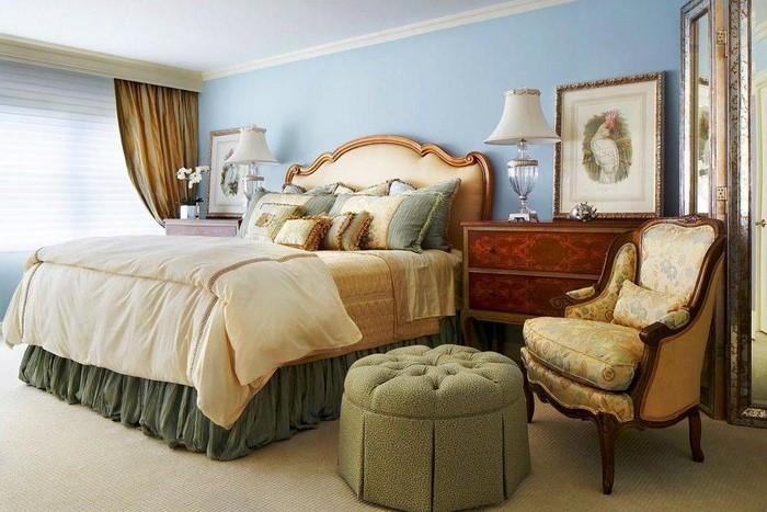 Schlafzimmereinrichtung-in-Blau-Ein-cooles-Design