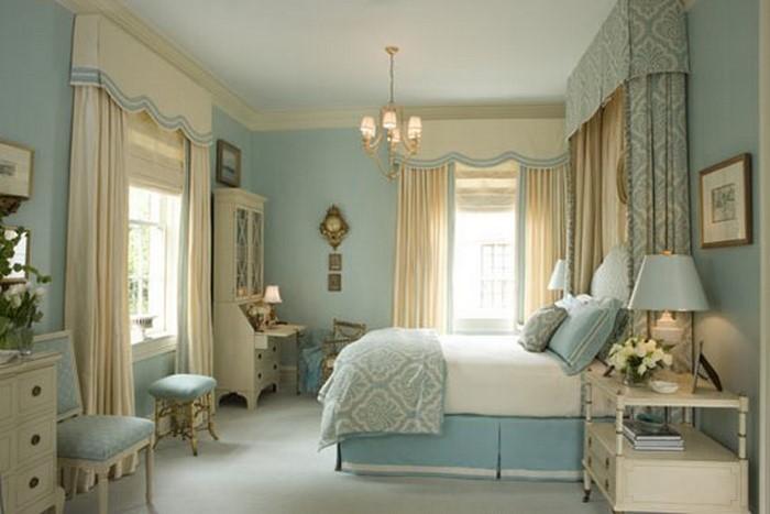 Schlafzimmereinrichtung-in-Blau-Ein-kreatives-Design