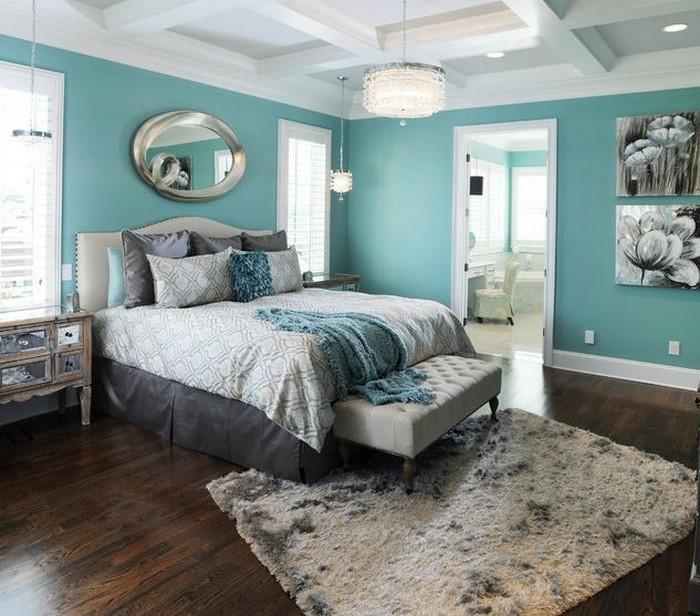 Schlafzimmereinrichtung-in-Blau-Eine-coole-Ausstattung