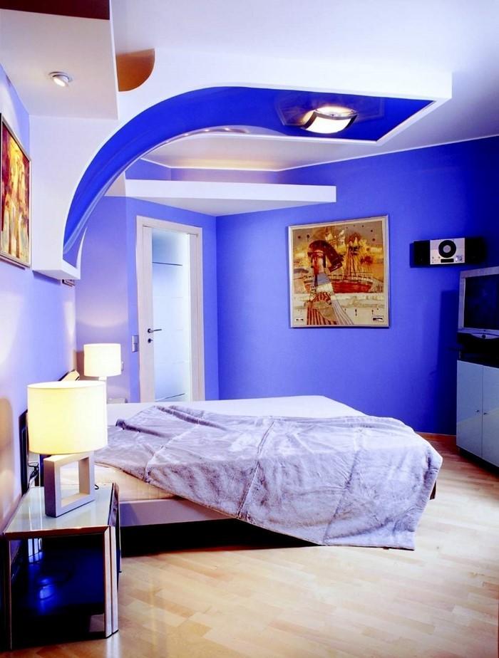 Schlafzimmereinrichtung-in-Blau-Eine-kreative-Gestaltung