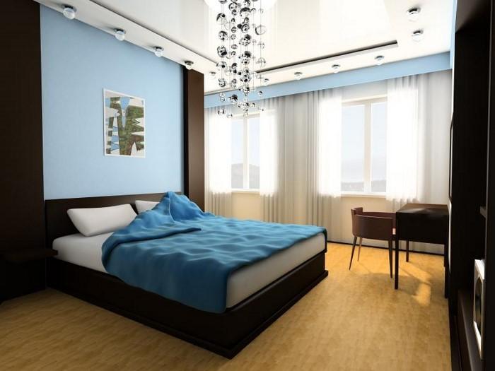 Schlafzimmereinrichtung-in-Blau-Eine-moderne-Ausstattung