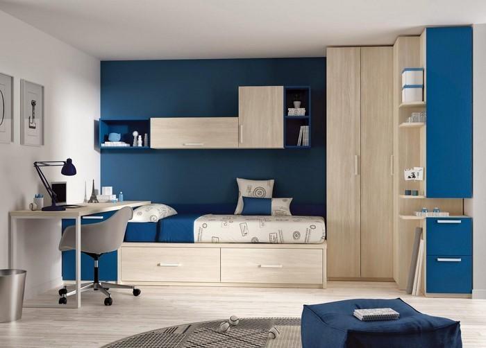 Schlafzimmereinrichtung-in-Blau-Eine-moderne-Ausstrahlung