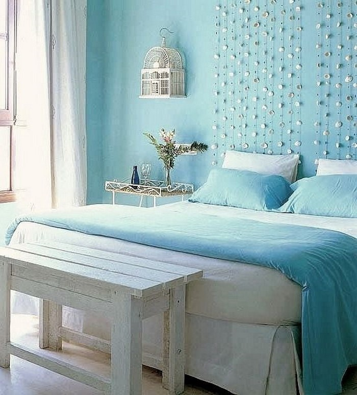 Schlafzimmereinrichtung-in-Blau-Eine-verblüffende-Ausstattung