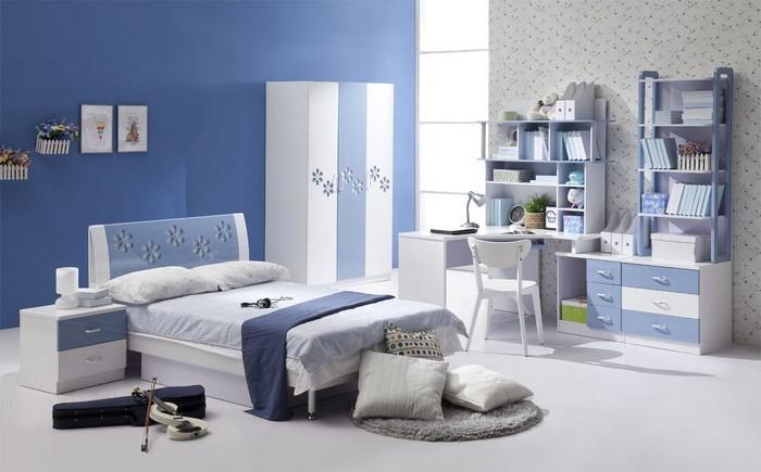 Schlafzimmereinrichtung-in-Blau-Eine-verblüffende-Entscheidung