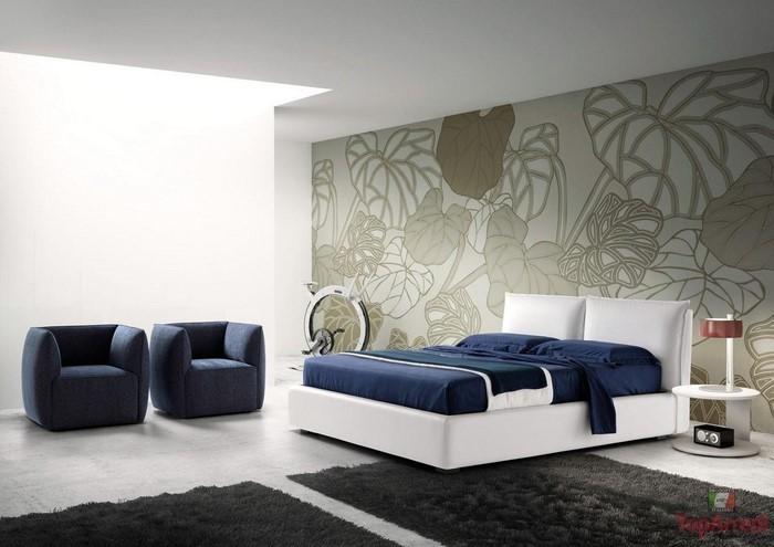 Schlafzimmereinrichtung-in-Blau-Eine-verblüffende-Gestaltung