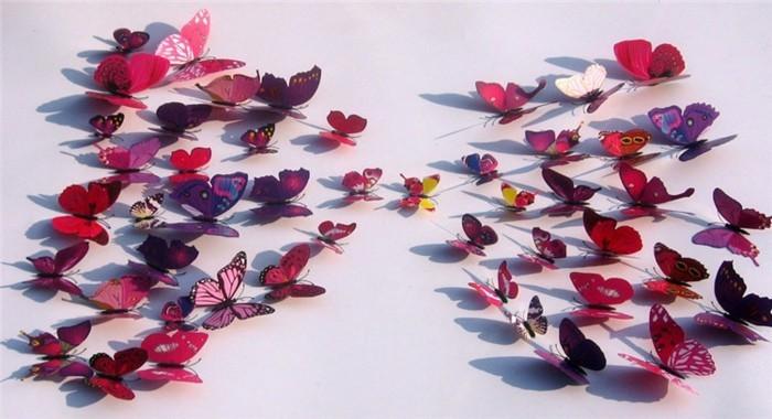 Schmetterling-aus-Papier-klein-und-groß