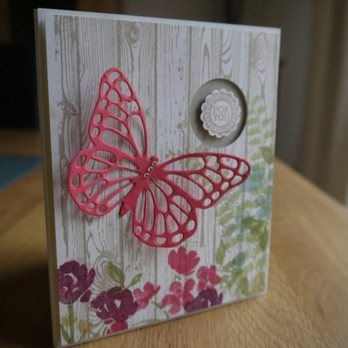 Schmetterling-basteln-Karte-für-dich