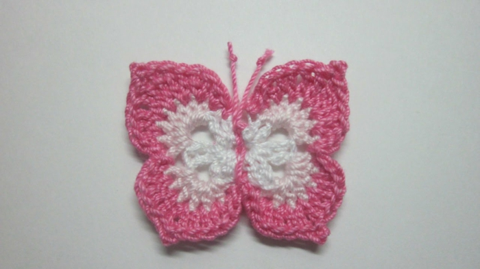 Schmetterling-basteln-und-häkeln