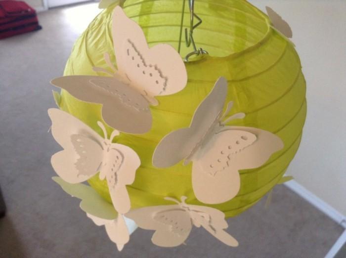 Schmetterlinge-basteln-für-die-Lampen