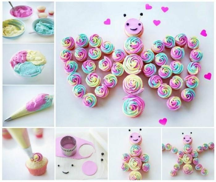 Schmetterlinge-basteln-mit-Kindern-aus-Süßigkeiten