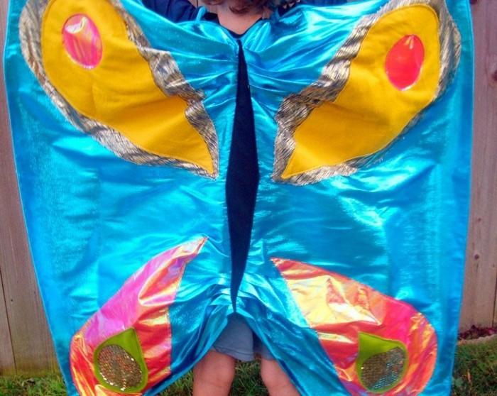 Schmetterlinge-basteln-mit-Kindern-für-Fasching