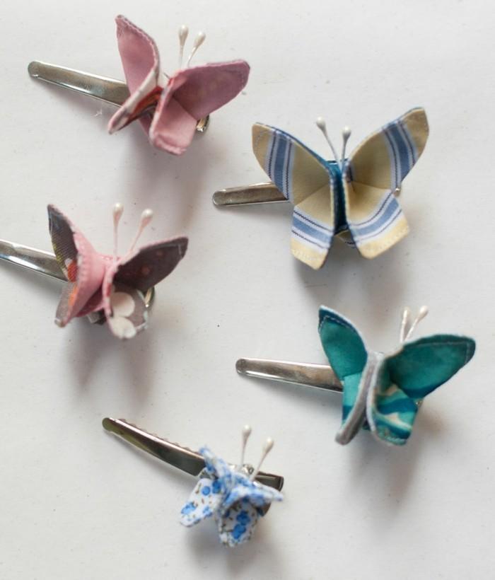 Schmetterlinge-basteln-mit-Kindern-für-das-Haar