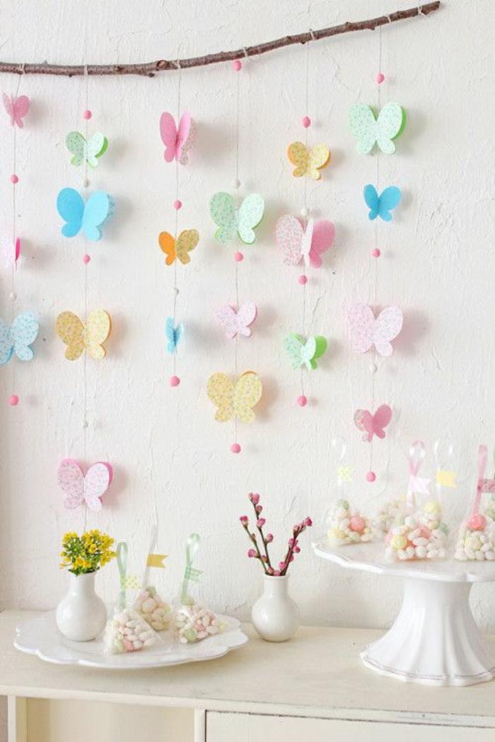 Schmetterlinge-basteln-mit-buntem-Papier