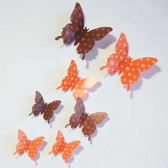 Schmetterlinge-basteln-mit-kleinen-Herzchen