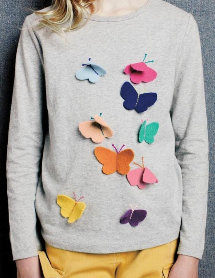 Schmetterlinge-zum-basteln-eine-Bluse