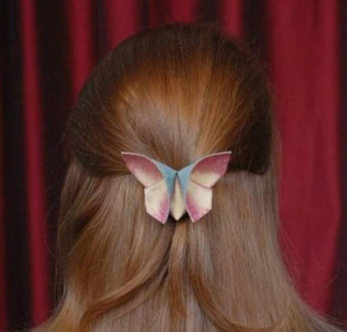 Schmetterlinge-zum-basteln-für-das-Haar
