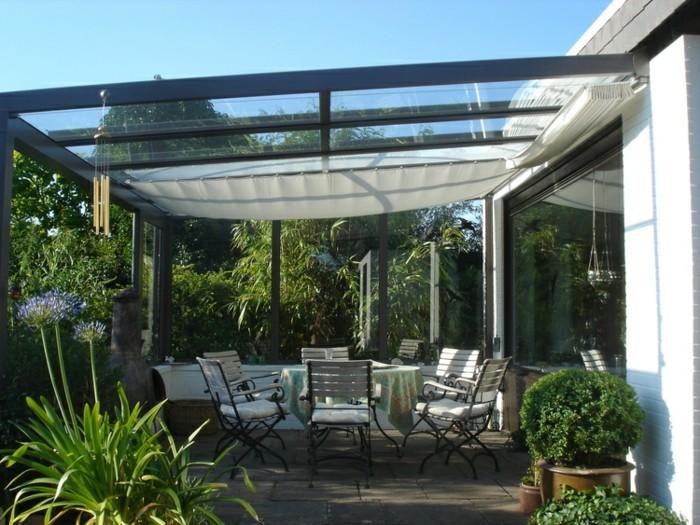 Terrassenüberdachung-glas-markise-sonnenschutz