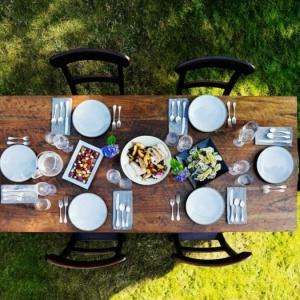 40 stilvolle Vorschläge zum Tisch eindecken